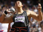 New Zealand`s Valerie Adams takes a throw in a women`s shot put qualification round during the athletics in the Olympic Stadium at the 2012 Summer Olympics.