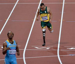 London Olympics 2012 Athletics: Blade Runner`s 400 metre dream over