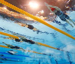 London 2012 Olympics Swimming: Without high-tech suits, records fell at Olympics