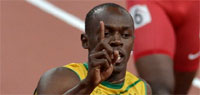 London Olympics 2012 men's 100m final: Bolt retains title, Blake clinches silver and Gatlin bronze