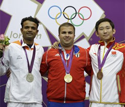 London Olympics 2012: Vijay says, am surprised that people didn`t expect a medal from me