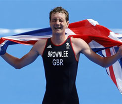 London Olympics 2012: Britain`s Brownlee slogs to triathlon gold