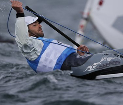 Cyprus gets first Olympic medal as Pavlos Kontides wins silver in sailing`s Laser class