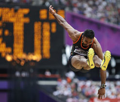 London Olympics: Indian triple jumper Renjith crashes out