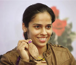 Saina Nehwal aims for gold in Rio 2016