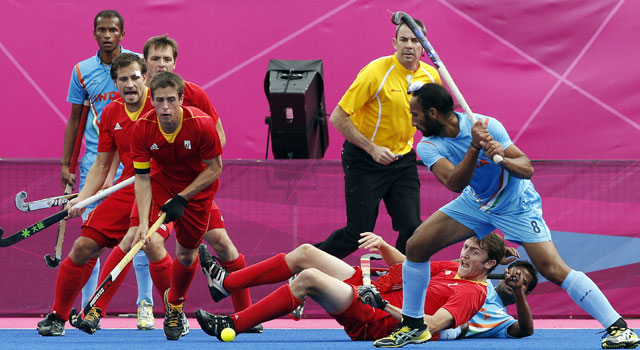 London Olympics 2012 hockey: India vs Belgium as it happened...