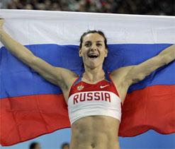 Olympics Pole Vault: Russian pole vault queen gets bronze