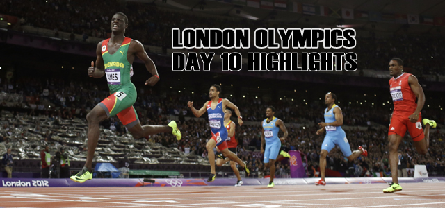 London Olympics 2012: Day 10 highlights