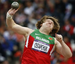 Olympic shot put: Ostapchuk wins gold for Belarus
