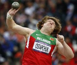 Olympic shot put: Ostapchuk wins gold for Belarus