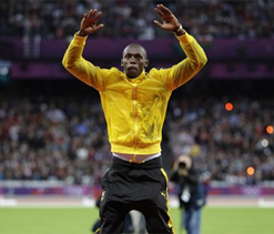 London Olympics 2012: Usain Bolt's Olympic win watched by record 20m viewers in UK