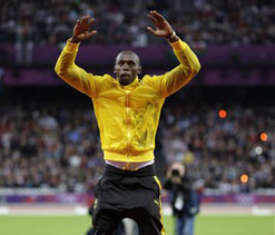London Olympics: Bolt admits to pressure ahead of 100m conquest