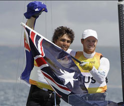 London Olympics sailing: Gold for Australia in men`s 49er