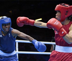 PM congratulates Olympic medalist Mary Kom