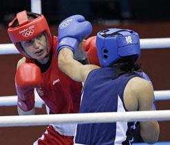 Olympics 2012 boxing: Tajikistan and Brazil women bag bronze