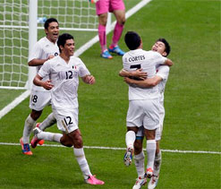 London Olympics 2012 Football: Mexico ease past the Japanese