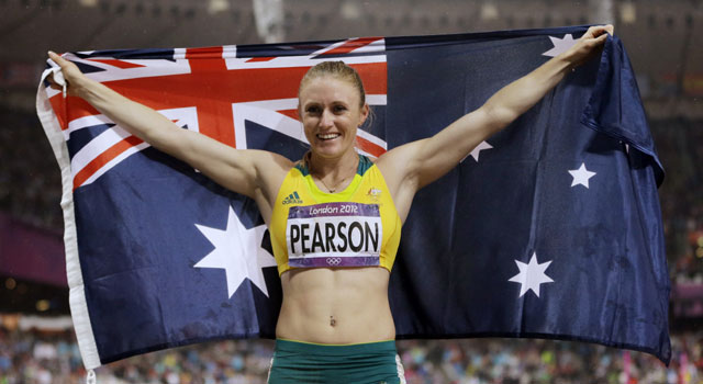 Olympic athletics: Pearson powers to 100m hurdle gold