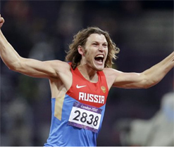 Olympic high jump: Ukhov wins gold for Russia