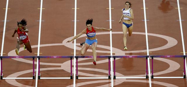 Olympic athletics: Russia`s Natalya Antyukh storms to 400m hurdles gold
