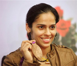 Saina Nehwal dedicates Olympic medal to father