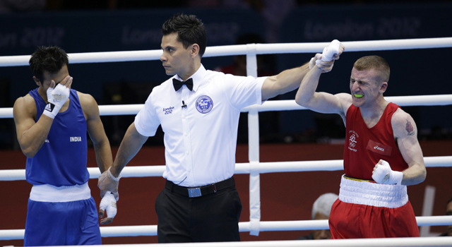 London Olympics 2012 Boxing: Devendro Singh loses in quarterfinals