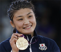 Olympic freestyle wrestling: Japan`s Icho wins 3rd gold
