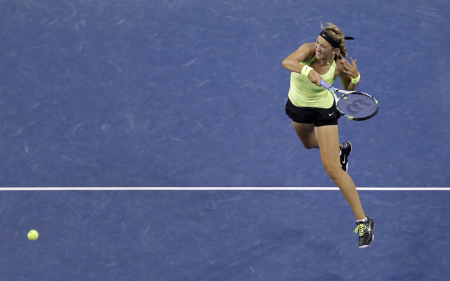 US Open: Top seed Victoria Azarenka powers into 4th round
