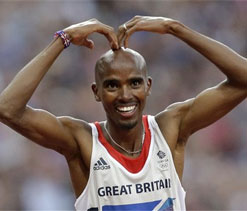 Mo Farah says 'hairless head' secret behind success