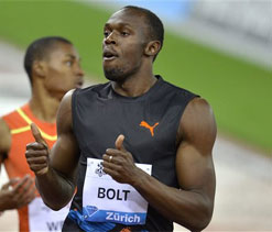 I stayed on for the fans, says Bolt