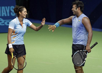 Sania, Leander to play together in Kolkata