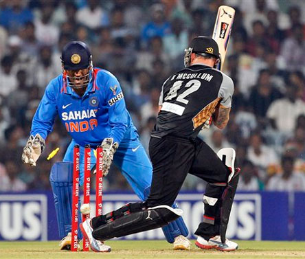 India vs New Zealand, 2nd T20: Statistical highlights