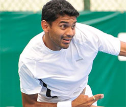 Divij Sharan replaces Myneni in Davis Cup squad