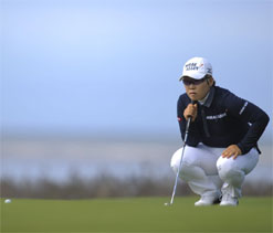 Women's British Open: Jiyai Shin in lead after second round