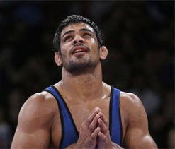 It is easier to be on mat rather than facing camera: Sushil
