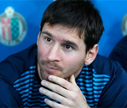 Barcelona are ready for Champions League, says Lionel Messi