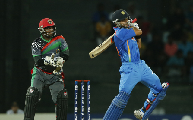 T20 World Cup 2012: India vs Afghanistan-As it happened...