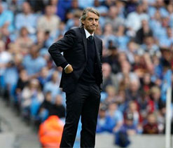 Man City needs tons of work to fire on all cylinders again: Mancini