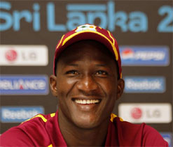 Sammy says Windies must back up `favourites` tag