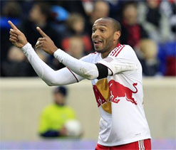 MLS bans Thierry Henry for one game over headbutt