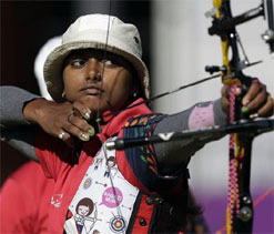Deepika Kumari settles for silver in Archery World Cup
