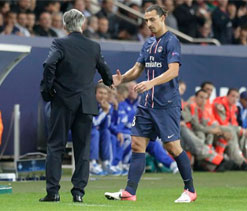 Zlatan Ibrahimovic fires PSG to easy win over Bastia