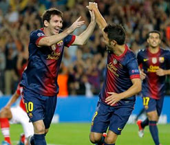 Messi insists that there is no problem with David Villa