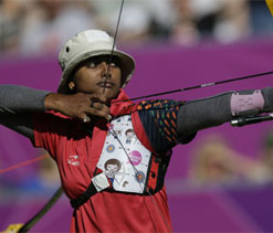 Deepika Kumari honoured by Tata Steel