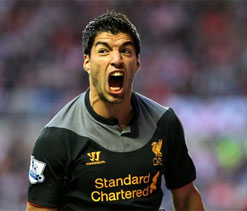 Rodgers, Gerrard and Johnson deny Suarez`s `diver` tag