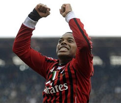 Robinho could return to play against Cagliari