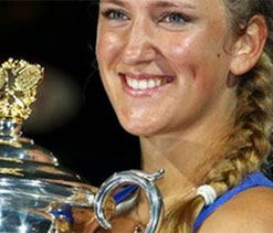 Japan Open: Azarenka thrashes Paszek, Sharapova stretched