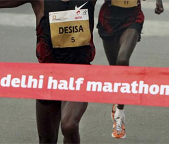Delhi Half Marathon course route unveiled