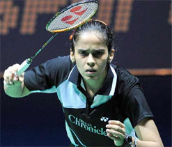 Saina to fly IAF`s jet trainer aircraft today