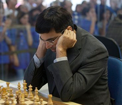 Final Chess Masters: Viswanathan Anand held by leader Caruana