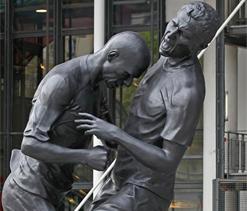 Zinedine Zidane head-butt now a statue
